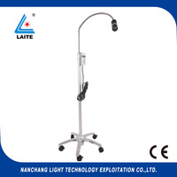 Mobile stand type ENT dental medical LED 5W examination light free shipping