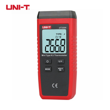 UNI-T UT320A UT320D Mini Contact Type Thermometer K/J Thermocouple Probe Selection With LCD Backlight Temperature Measurement