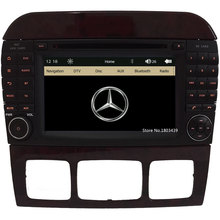 7″ Car DVD Player Radio Stereo GPS Screen PC For Mercedes-Benz S Class W220 CL W215 W220 W220 S550 S600 S350 S400 S280 S320 S65