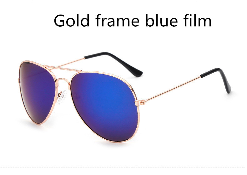 ASUOP2018 new ladies retro cat eye sunglasses luxury brand fashion men's pilot glasses UV400 night vision goggles night vision goggles (4)