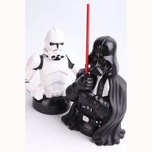 Star Wars Darth Vader Piggy Bank PVC Action Figure Dolls Collectible Model Toy Save Money Box N05