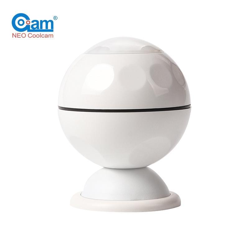 Coolcam NAS-PD02Z Z Wave Plus EU US Pir Motion Sensor Detector Home Automation Power Operated Alarm System Motion Sensor New
