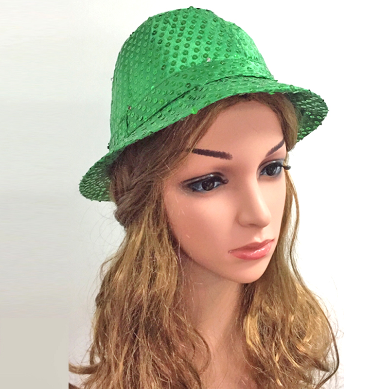 5 unids / lote Hombres Mujeres LED Light Glow Caps Hot New Fashion - Para fiestas y celebraciones