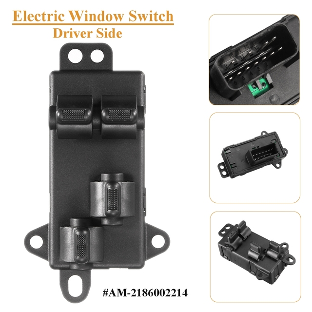 Am 2186002214 4685732ac Driver Side Electric Window Switch For Chrysler Dodge Grand Caravan Town Country 2004 2005 2006 2007