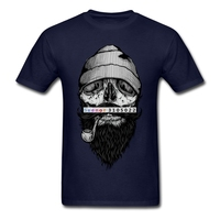 2018 Mens Tee Crazy Man Bone Sailor T Shirt Discount T Shirt Software Versae