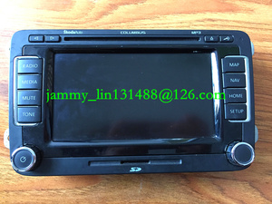 """6.5"""" LCD display Panel with touch screen for Skoda Columbus RNS510 sat nav navigation audio systems(China)"""
