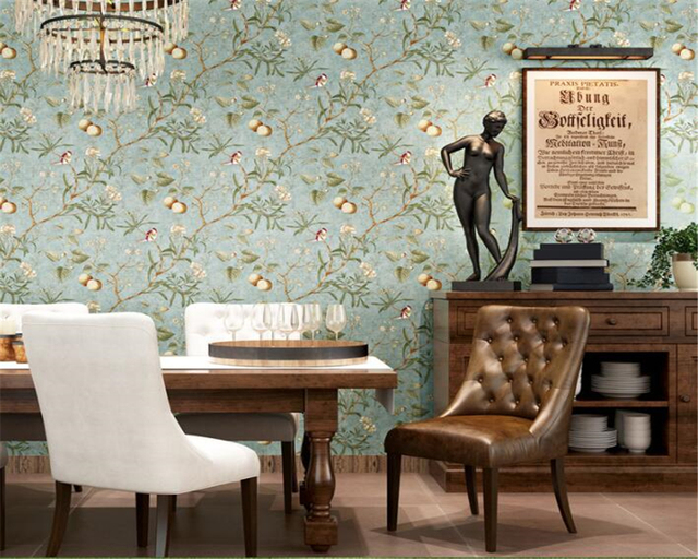 Beibehang home decoratie d zitkamer kamer d behang mode