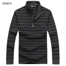 Men's Polo Shirts For Spring Full Sleeve Man Casual Tops Male Camisa Polo Masculina Brand Tees 23832-1