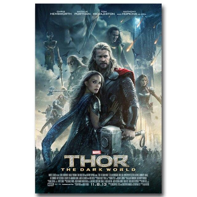 Плакат гобелен шелковый Тор Постер