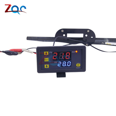 W3230 DC 12V AC 110V 220V 20A LED Digital Temperature Controller Thermostat Thermometer Temperature Control Switch Sensor Meter Karachi