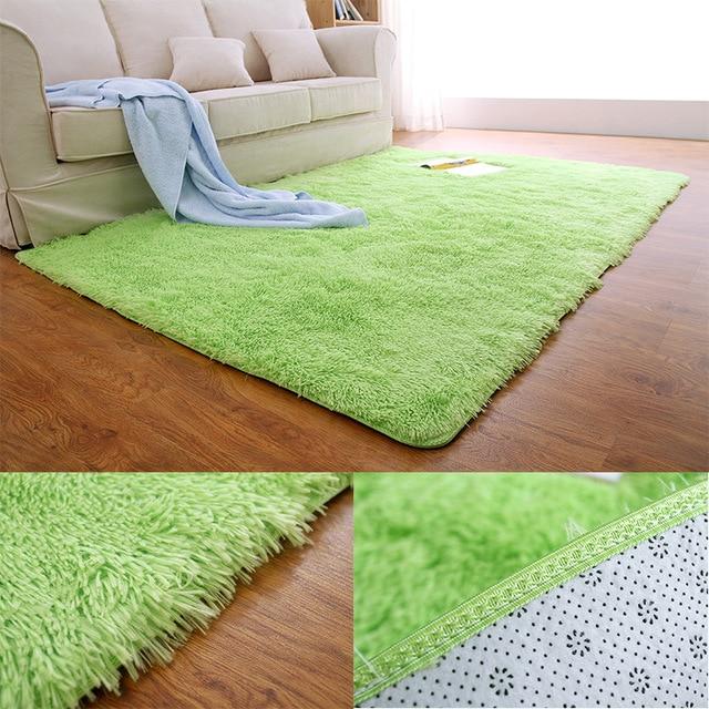 shaggy flauschigen teppiche 80x12050x160 cm anti skid bereich teppich esszimmer teppich home schlafzimmer - Esszimmer Bereich Teppiche