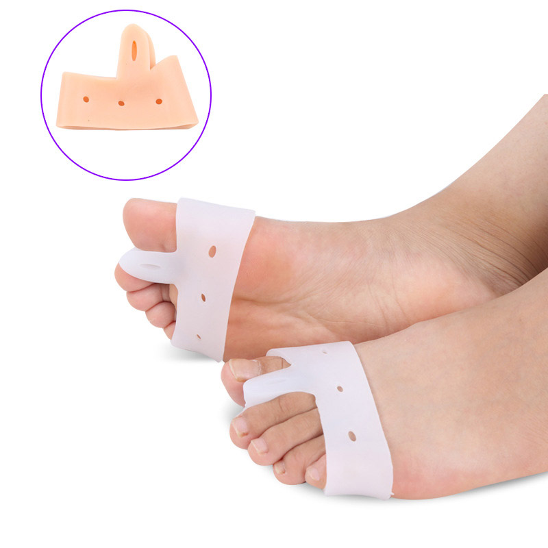 2018 New Arrival Gaming Chair Tens Silicone Before The For Palm Pad Half Yards Toe Valgus Orthosis Separator Insoles 1 Pairs the silver chair