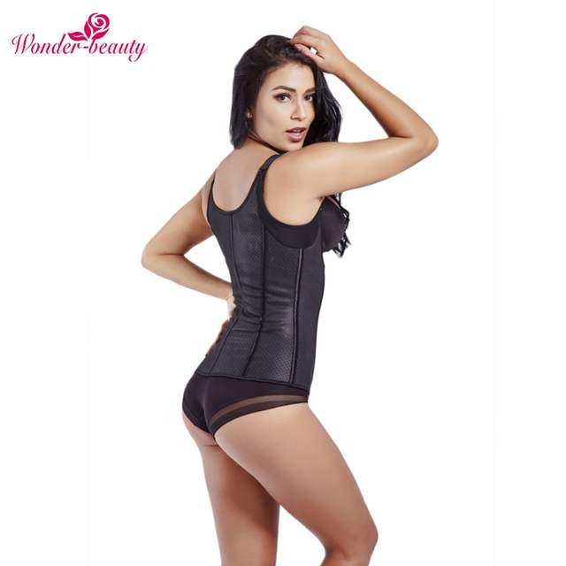 5d2420a6880 Online Shop Wonder-Beauty Waist Trainer Body Shaper Women Latex Corset  Slimming Binder Trans Bodysuit Shapewear Underbust Waist Cincher -F