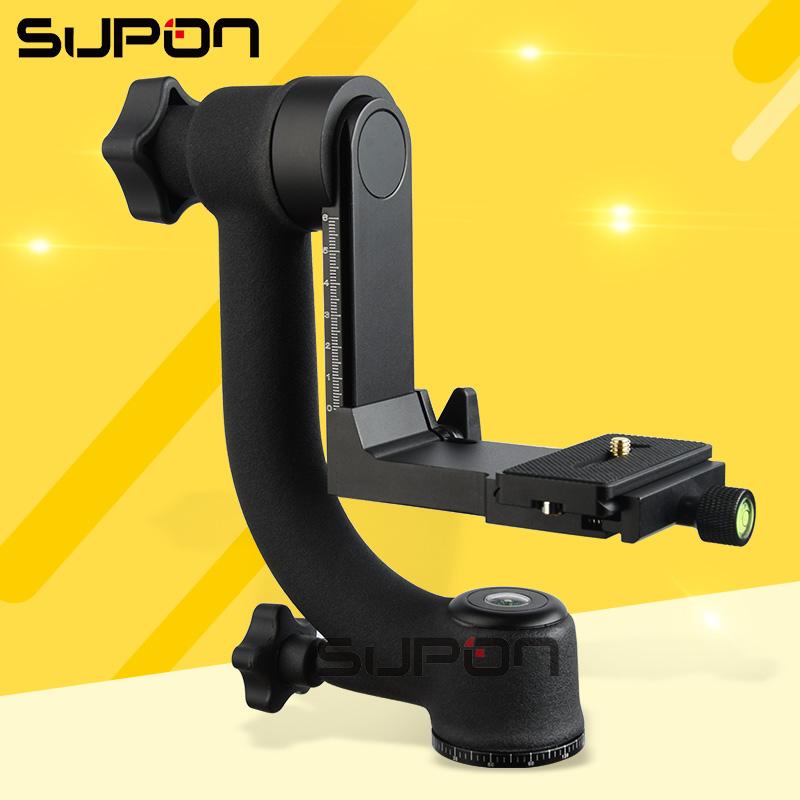 """Prix pour SUPON Pro 1/4 """"360 Pivotant Pro Panoramique Cardan clamp Trépied Rotule BK-45 système"""