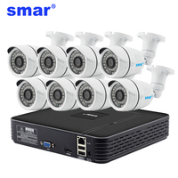 H 264 8CH NVR 720P IP Camera Video Record HDMI Output IR Cit Outdoor CCTV