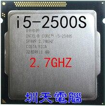 Lntel Çekirdek i5 2500 S i5 CPU Işlemci 2.7 GHz LGA 1155 65 W Quad Core scrattered adet (çalışma 100% Ücretsiz Kargo) i5 2500 s