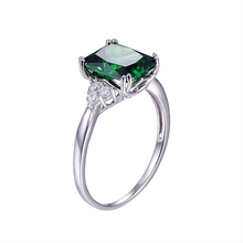 5.3ct Nano Russian Emerald Ring