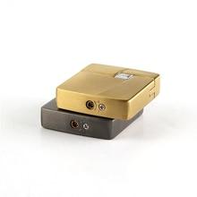 Cigarette accessories Butane Gas Lighter Mini square shape Metal Cigarette Lighter TX-001