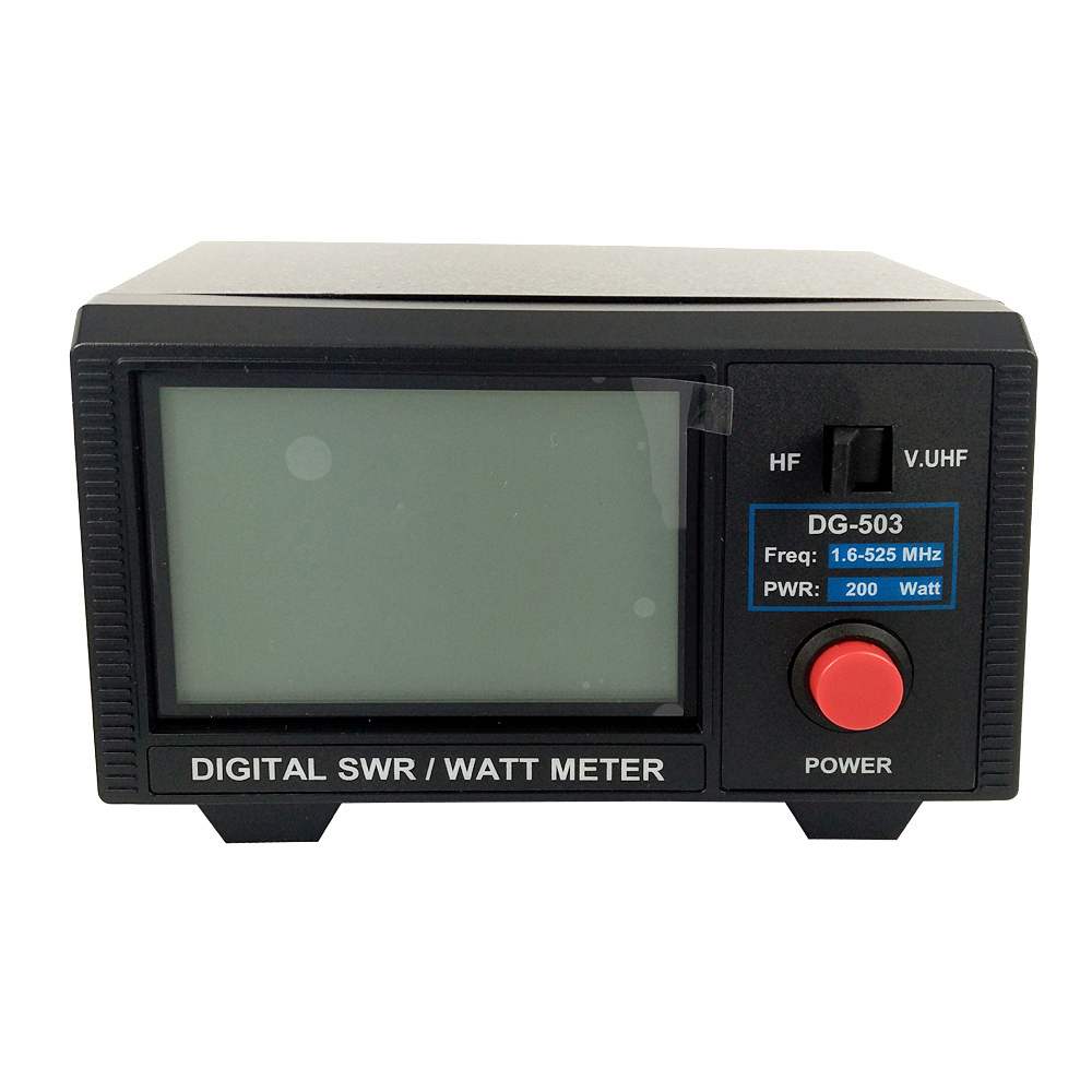 DSHA DG-503 LCD Digitale SWR Power Rapporto di Onda Stazionaria 1.6-60 mhz/125-525 mhz 200 w a due Vie Senza Fili Walkie-talkie