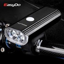 Easydo New 1000 Lumen Bicycle Light USB Rechargeable MTB Road Bike Handlebar Front light Waterproof Headlight Cycling Flashlight