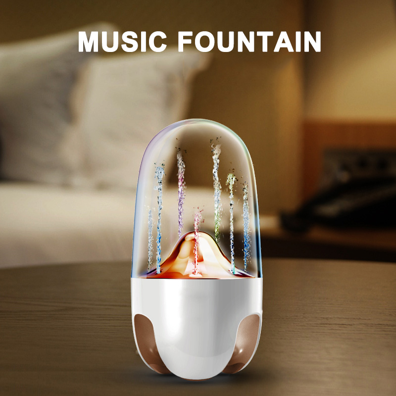 Hot NEW Portable Wireless Bluetooth Speakers Stereo Sound Colorful LED Light Music Fountain Speaker HY99Hot NEW Portable Wireless Bluetooth Speakers Stereo Sound Colorful LED Light Music Fountain Speaker HY99