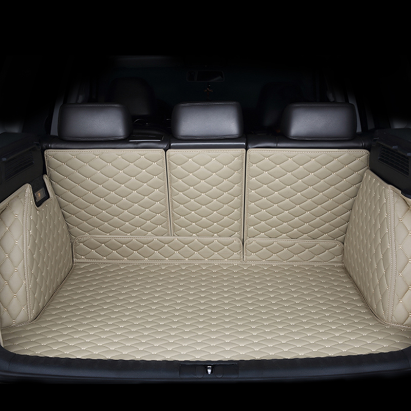 Custom car trunk mats for Peugeo all models 301 408 308 508 3008 2008 4008 5008 car styling accessories