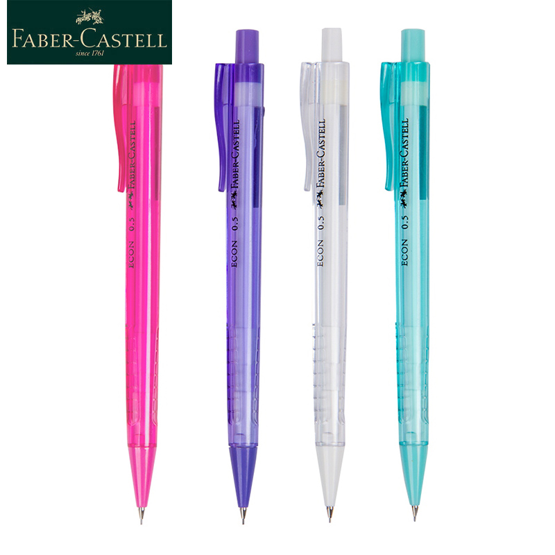 Faber-Castell Automatic Mechanical Poly Matic Clutch Pencil 0.5mm 4 Colours