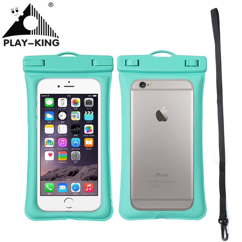 Universal Swim Waterproof Phone Bag Pouch With Strap Waterproof Case For Phone Dry Bag Iphone 8 Plus 7 7P 6 inch For Swimming waterproof bag pouch w armband neck strap for iphone 5 5c translucent blue black