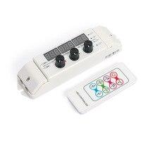цена на Remote Control RGB Controller RF Remote Controller DC12-24V 6Ax3CH Led Controller For LED Strip Light LED Module