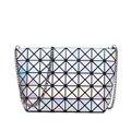 2016 квадратных женщины сумочка геометрическая горячий стиль лазерная пакет лин цепи наискось одиночный мешок плеча сумочку
