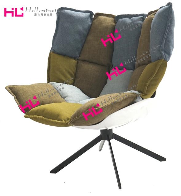 HUSK CHAIR Muscle Fiberglass Chair Recliner Chair Designer Chairs Husk  Simple Armchairs