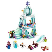 SY373 bela JG301 10435 Cinderella's Romantic Castle Anna Elsa Minifigures Building Blocks Brick Toys Girls compatible with legoe