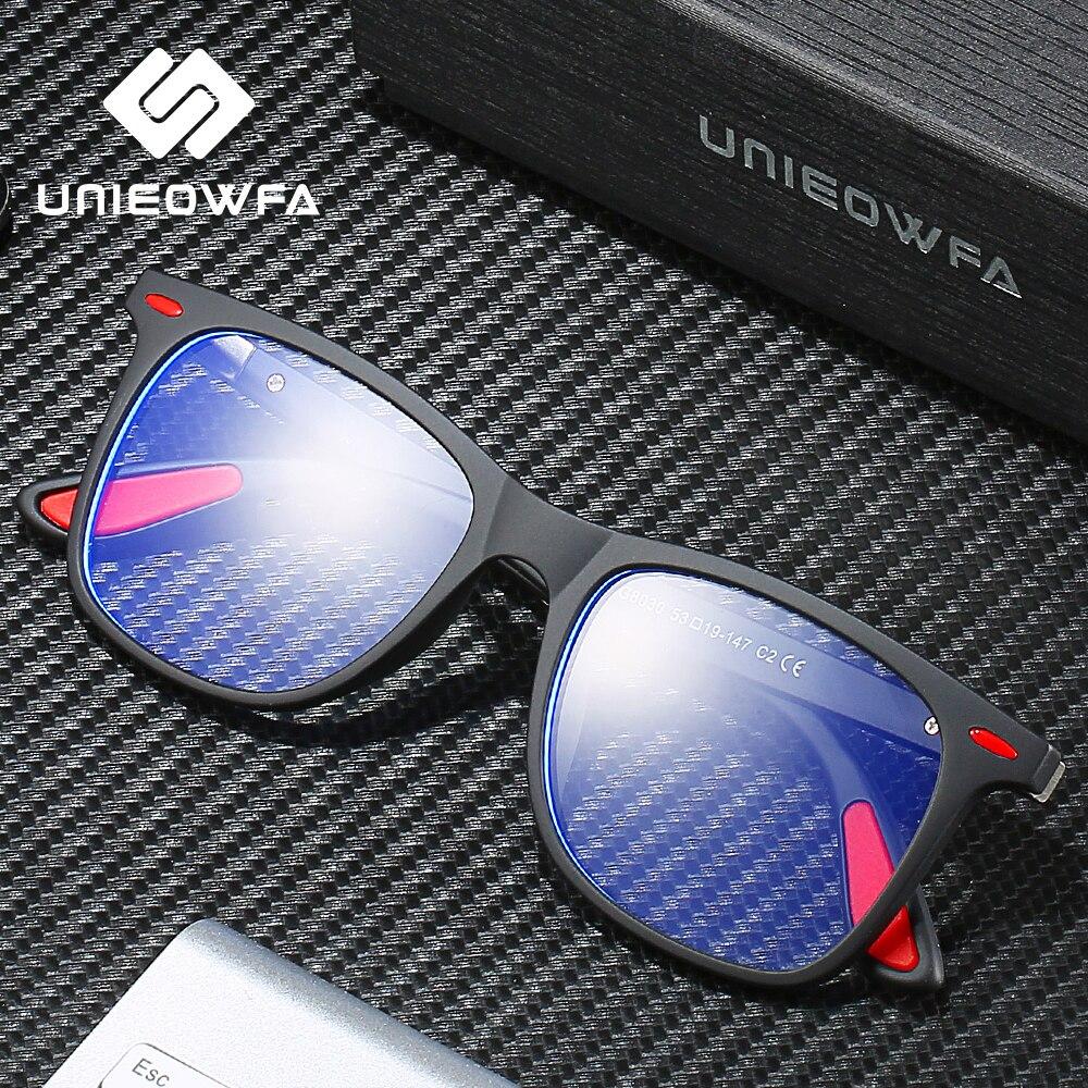 Image 3 - UNIEOWFA Retro Clear Glasses Frame Men Women Optical Myopia Eyewear Frame Transparent Spectacles TR90 Prescription EyeglassesMens Eyewear Frames   -