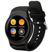 2017 neueste Moderne aussehen smart uhr 240*240 rundum bildschirm 1.3HD IPS Smartwatch für IOS & Android unterstützung sim karte