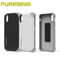 Puregear DualTek Premium Antichoque Protectora Al Aire Libre Choque Extreme para el iphone X con el Embalaje Al Por Menor