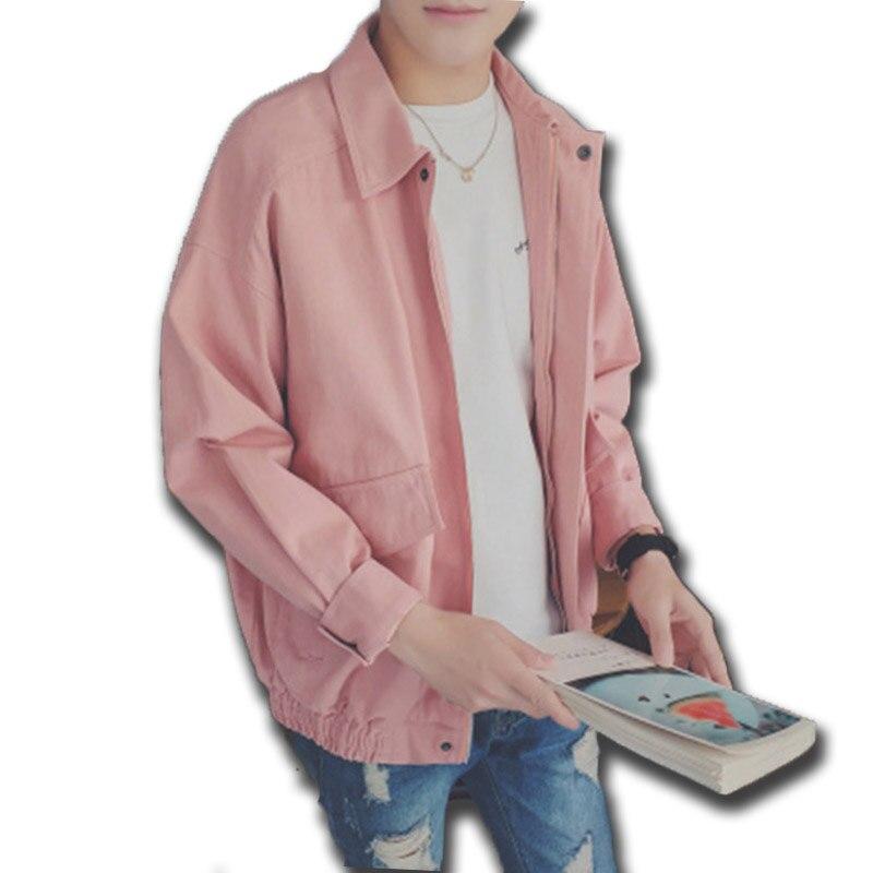 light Ceket Tops Couleur Hiver Vestes Grande Automne Vêtements pink Manteau Tranchée Black Hommes 70b0257 Veste Taille Punk Chaquetas Manteaux Solide Green pjLVqSUzMG