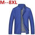 Plus size 9xl 8XL 7XL 6XL 5XL 2016 Men's New Casual Jacket High Quality Spring Regular Slim Jacket Coat For Male Wholesale