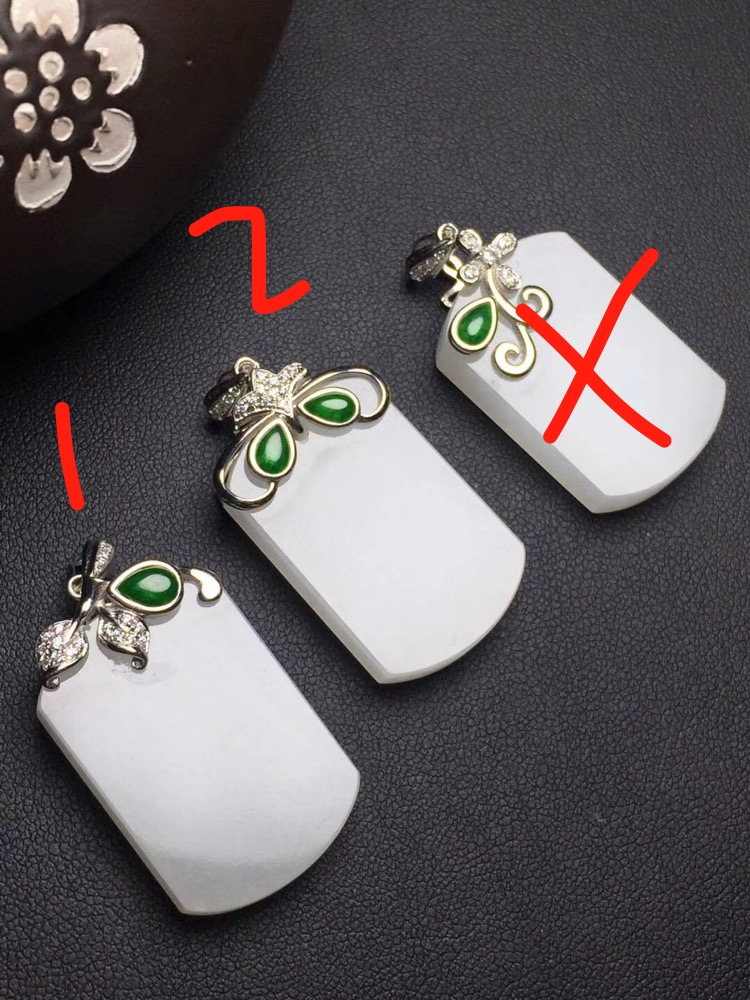 Fine Jewelry Real 925 Steling Silver s925 Myanmer Origin 100% Natural Jade Gemstone Female Pendant Necklaces Christmas Gift