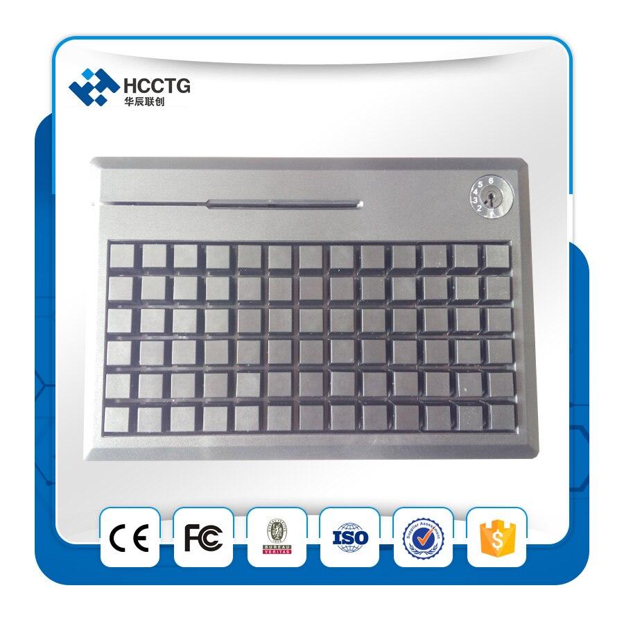 USB 78 Touches Mécanique Étanche POS Programmable Clavier wihout MSR - 5