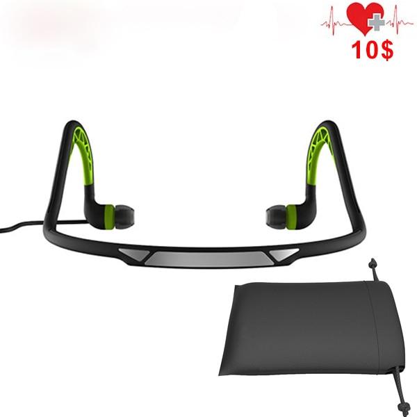 2016 New Neckband Sports Earphones Waterproof Headphones Stereo Headset