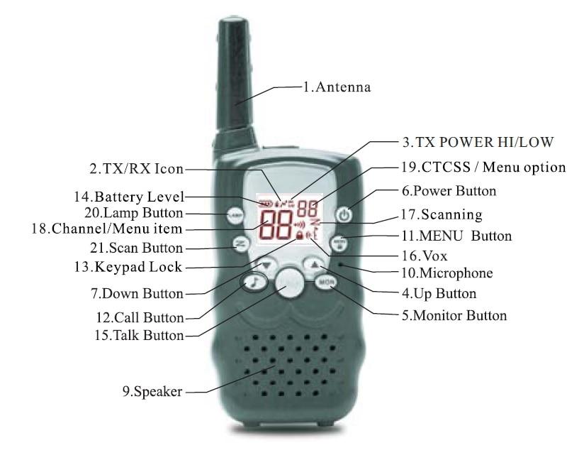 VT8 жаңа дизайны 1 Вт қуатты ұзақ - Портативті радиостанциялар - фото 6