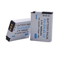 2x EN-EL12 EN EL12 ENEL12 Batterie Pour Nikon Coolpix A900 AW130 AW120 S9900 S9500 W300 S9700 S9600 S9300 S6000 S8200 S8100 AW110