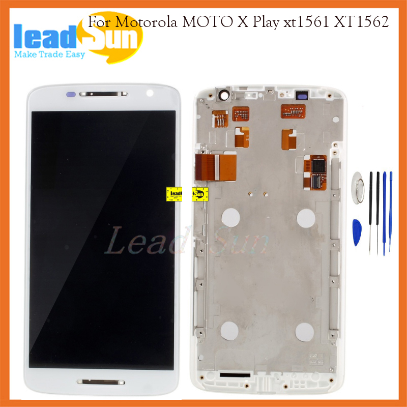 10/pcs free dhl ems shipping for Motorola MOTO X Play X3 XT1561 XT1562 XT1563 Lcd display with touch screen digitizer with frame 2016 sale rushed 10pcs free dhl ems for motorola moto xt1254 touch digitizer lcd display 100
