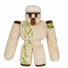2016 New Minecraft Plush Toys 36CM Minecraft Iron Golem Plush Toy Doll Soft Stuffed Toys for Kids Children Christmas Gift