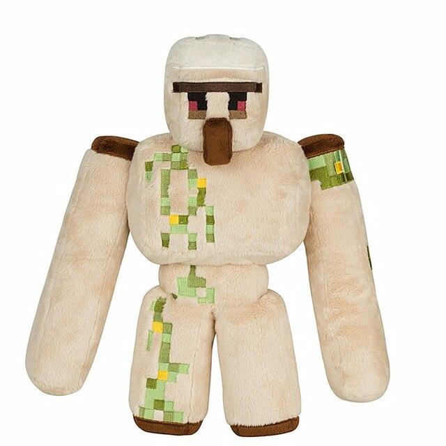 5 шт./лот новый Minecraft железа голем плюшевые игрушки куклы 36 см Minecraft железа голем плюшевые мягкие игрушки для детей детям подарки