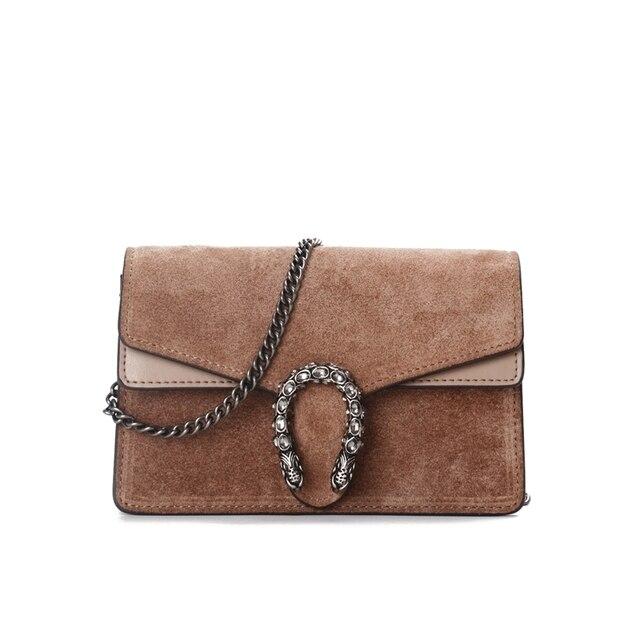 Famous Branded Bags Luxury Designer Handbag Women Suede Leather Shoulder Bag bolsos feminina 2018