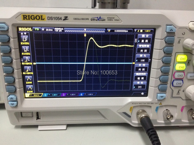 Oscilloscope Model Number : Rigol ds z mhz digital oscilloscope analog channels