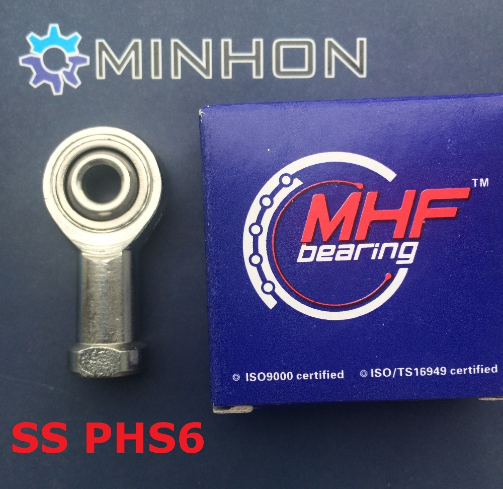 Stainless Steel SS PHS6 Rod End Joint Ball Bearing Best price High performance