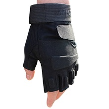 2016 hell storm usa special forces tactical gloves outdoor fighting combat slip resistant black half finger