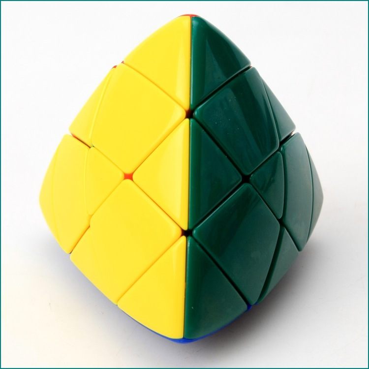 3*3 Colorful Puzzle Magic Cube Pyramid Rice Dumpling Magic Speed Cube Educational Learning Toy For Children